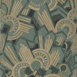 Ellington Wallpaper Atmos 73910220 or 7391 02 20 By Casamance